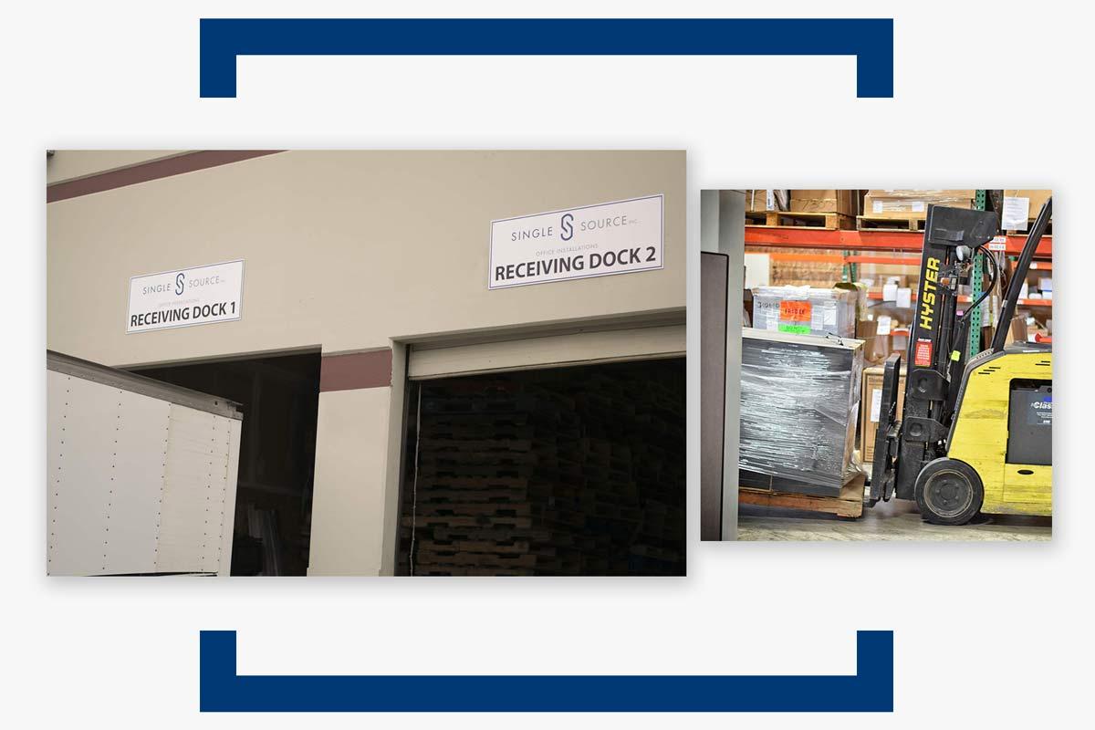 Bay Area Office Furniture Warehousing & Logistics